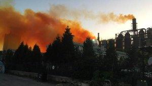 Kütahya'daki azot fabrikasında patlama