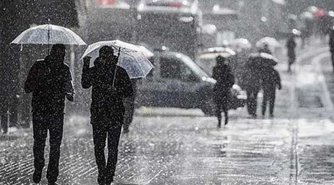 Meteoroloji uyardı! Bazı illerde sağanak yağış bekleniyor