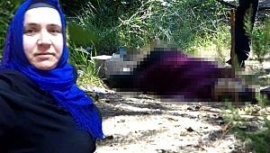 Ormanda vahşi cinayet... Boynuna defalarca satırla vurulmuş