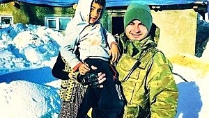 PKK terörüne kurban giden Ayaz, şehit astsubay ile fotoğraf çektirmiş