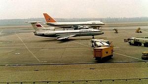 Rusya'dan gelen gizemli askeri uçak Malatya'ya indi
