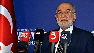 Saadet Partisi Lideri Temel Karamollaoğlu: Biz her iddiamızdan vazgeçeriz, yeter ki problemleri çözün