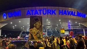 Sultan Vahdettin portresi Atatürk Havalimanı'nda