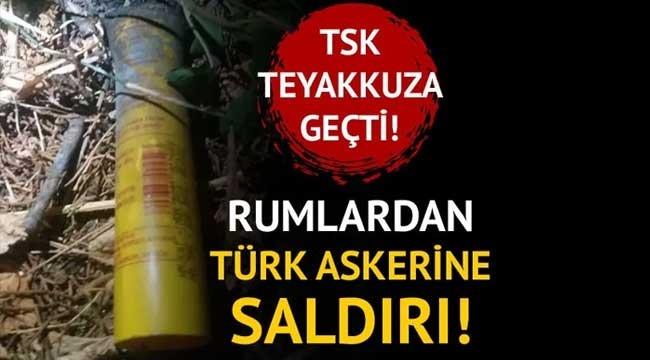TSK teyakkuza geçti! Kıbrıs Barış Harekatı'nın yıl dönümünde Rumlardan Türk askerine saldırı!