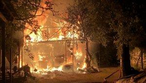 Yangında can kurtarmak için zamanla yarış - Bursa Haberleri