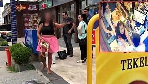 Alkol için gözü dönen kadın, tekel bayii sahibine saldırdı