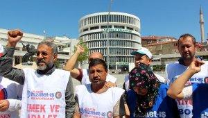 Bolu Belediyesi'nde işten çıkarılan işçilerin eylemi 125'inci gününde devam ediyor