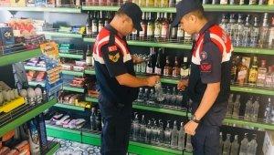 Bursa jandarma ekiplerinden kaçak alkol denetimi - Bursa Haberleri