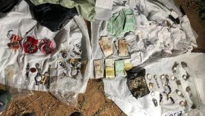Drone'li villa hırsızları, köpeklerle korunan villada yakalandı