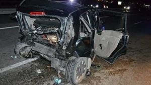 Feci trafik kazasında mucize kurtuluş! Bu araçtan sağ çıktılar!