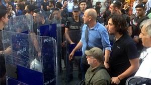 HDP'li vekiller Tamsim'de yürümek isteyince polis harekete geçti
