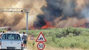 İzmir'in ardından Balıkesir de alev alev yanıyor