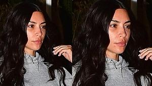 Kardashian'ın bu halini çoktandır görmemiştik