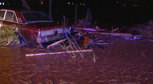 Şiddetli sağanak yağış Rize'vurdu! 1 kişi sel sularına kapılarak kayboldu