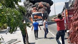 Son dakika! Balıkesir'de yolcu otobüsü alev aldı: 5 ölü, 15 yaralı!