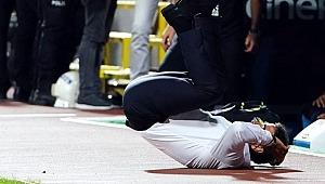 Ünlü spor adamının zor anları... Bir anda yere düştü