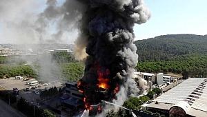 AFAD'dan Tuzla'daki fabrika yangının ilişkin açıklama