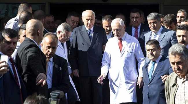 Ankara'da Devlet Bahçeli hareketliliği heyecan yarattı!
