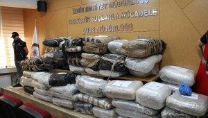 Bir anahtardan yola çıkan ekipler 1 ton uyuşturucu buldu