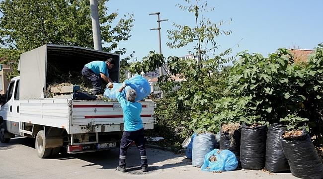 Budama atıkları yeniden toprağa kazandırılıyor - Bursa Haberleri