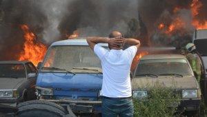 Bursa'da 24 aracın küle döndüğü yangını çıkaran kişi yakalandı - Bursa Haberleri