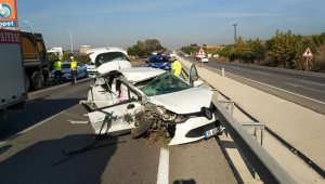 Bursa'da trafik kazası: 1 ölü 1 yaralı - Bursa Haberleri