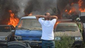 Bursa'da yed-i emin deposunda büyük yangın - Bursa Haberleri