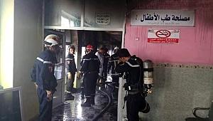 Cezayir'de hastanede yangın dehşeti... 8 bebek kurtarılamadı