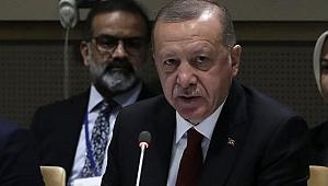 Cumhurbaşkanı Erdoğan'dan etkinliğe damga vuran sözler: 'Eşimle beni yarım saat beklettiler'
