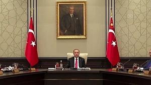 Cumhurbaşkanlığı Kabine toplantısında Fırat'ın doğusu ve ABD mutabakatı ele alındı