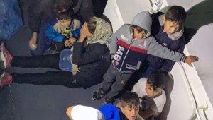 Datça'da 37 düzensiz göçmen yakalandı