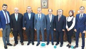 DATÜB heyeti Uludağ Üniversitesi Rektörü Kılavuz'a başarılar diledi - Bursa Haberleri