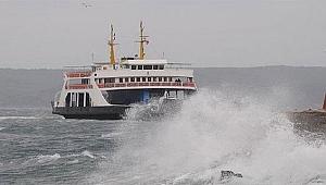 Deniz ulaşımına fırtına engeli - Bursa Haberleri