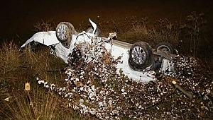 Feci trafik kazasında iki üniversiteli genç kız hayatını kaybetti!