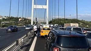 FSM'de polis operasyon düzenledi, Edirne istikametinde trafik durdu