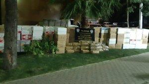 Gazete kaplı camdan şüphelenen polis 240 kilo kaçak tütün yakaladı - Bursa Haberleri