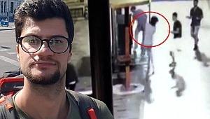 İTÜ'lü gencin öldürüldüğü anın kamera görüntüleri çıktı