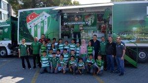 Karacabey'den Bursaspor'a forma desteği - Bursa Haberleri