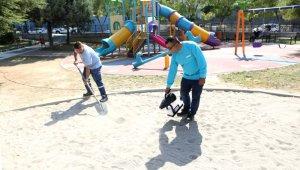 Kum havuzları dezenfekte ediliyor - Bursa Haberleri