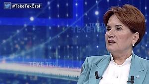 Meral Akşener, '2023 seçiminde Erdoğan'ı destekler misiniz? sorusuna yanıt verdi