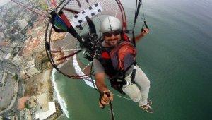Muğla'da denize düşen yamaç paraşütçüsü hayatını kaybetti!