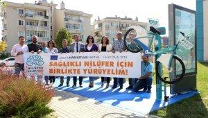 Nilüfer'de bisiklet tamir istasyonları kuruluyor - Bursa Haberleri