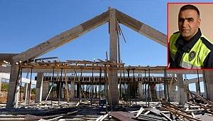 Yarım kalan külliye inşaatı MHP, AK Parti ve CHP'yi karşı karşıya getirdi