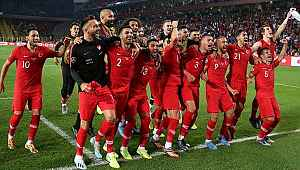 A Milli Takımımız, FIFA dünya sıralamasında 32. sıraya yükseldi