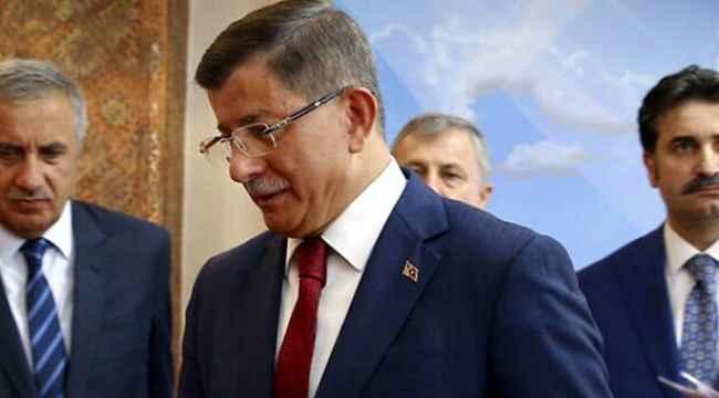 Ahmet Davutoğlu'ndan Barış Pınarı Harekatı ve ABD heyeti açıklaması!