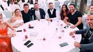 Ahmet Dursun ve Asena Demirbağ'ın düğününe ünlü isimler akın etti