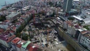 AKM'deki son durum havadan görüntülendi