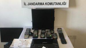 Alanya'da kredi kartı dolandırıcılarına operasyon: 5 gözaltı