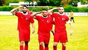 Almanya'da Türk amatör takımlarında 'asker selamı' alarmı