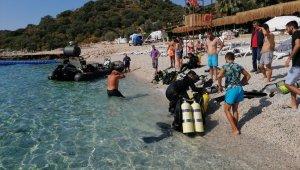 Antalya'da derin dalış eğitimi yapan 4 asker hastaneye kaldırıldı
